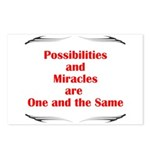 2-possibilites-are Postcards (Package of 8)
