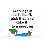ass-falls-off Postcards (Package of 8)
