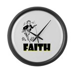faith Large Wall Clock