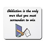 surrender-to-win Mousepad