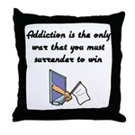 surrender-to-win Throw Pillow