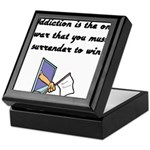 surrender-to-win Keepsake Box