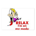 relax-meds Postcards (Package of 8)