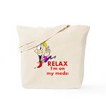 relax-meds Tote Bag