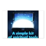spiritual-tools Postcards (Package of 8)