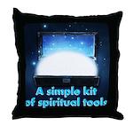 spiritual-tools Throw Pillow