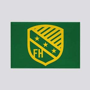 Farmhouse Fraternity Yellow Crest Rectangle Magnet