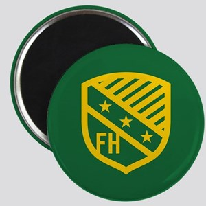 Farmhouse Fraternity Yellow Crest Magnet