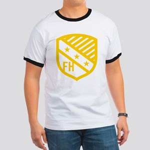 Farmhouse Fraternity Yellow Crest Ringer T
