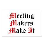 meeting-makers Postcards (Package of 8)