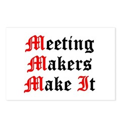 meeting-makers Postcards (Package of 8)