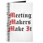 meeting-makers Journal