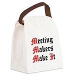 meeting-makers Canvas Lunch Bag
