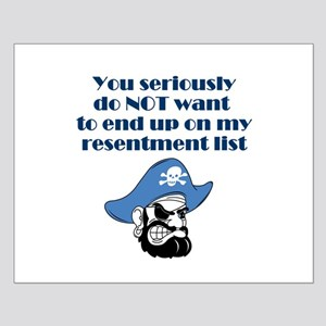 resentment-pirate Posters