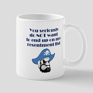 resentment-pirate Mugs
