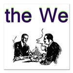 the-we Square Car Magnet 3