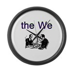 the-we Large Wall Clock