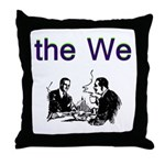 the-we Throw Pillow