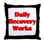 daily-recovery Throw Pillow