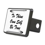 thine-own-self Hitch Cover