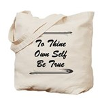 thine-own-self Tote Bag