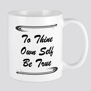 thine-own-self Mugs