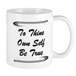 thine-own-self Mugs