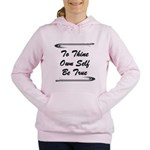 thine-own-self Sweatshirt