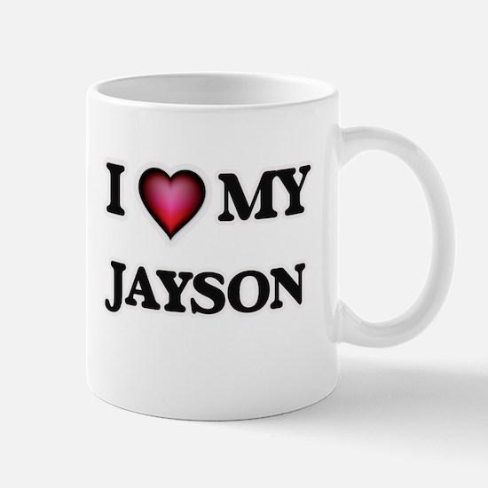 I love Jayson Mugs