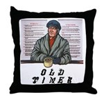old-timer Throw Pillow