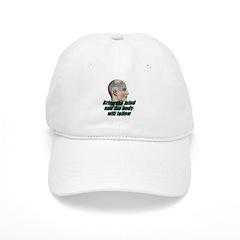 mind-will-follow2 Baseball Baseball Cap