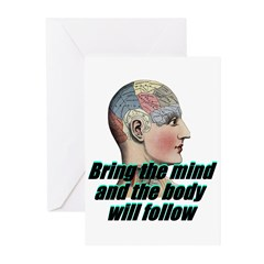 mind-will-follow2 Greeting Cards