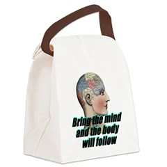 mind-will-follow2 Canvas Lunch Bag