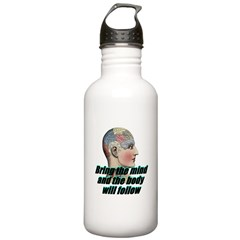 mind-will-follow2 Water Bottle