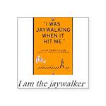 jaywalking Sticker