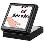be-of-service Keepsake Box