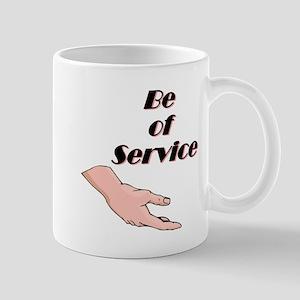 be-of-service Mugs