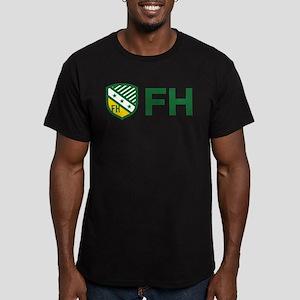 Farmhouse Fraternity F Men's Fitted T-Shirt (dark)