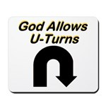 u-turns Mousepad