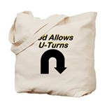 u-turns Tote Bag