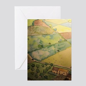 Summer in Normandy Greeting Cards