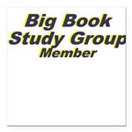 big-book-study-group Square Car Magnet 3