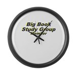 big-book-study-group Large Wall Clock