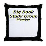 big-book-study-group Throw Pillow