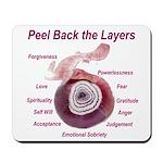 peel-back-layers Mousepad