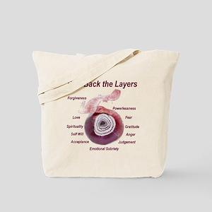 peel-back-layers Tote Bag