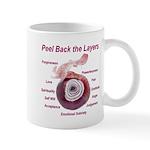 peel-back-layers Mugs