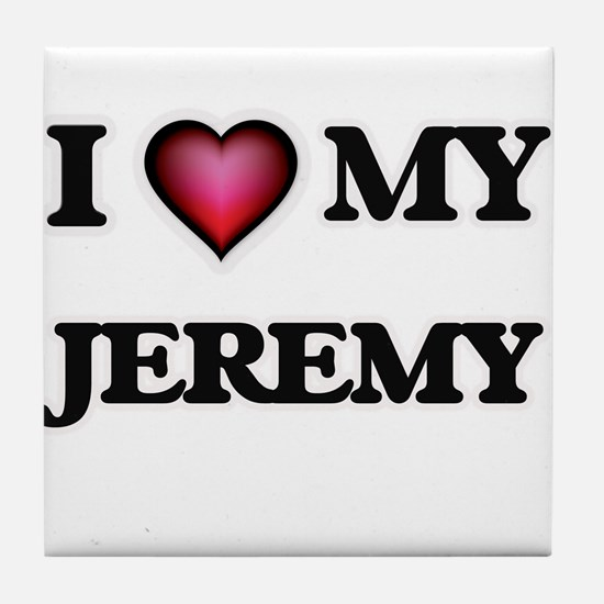 I love Jeremy Tile Coaster