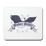 sober-biker Mousepad