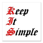 keep-it-simple Square Car Magnet 3